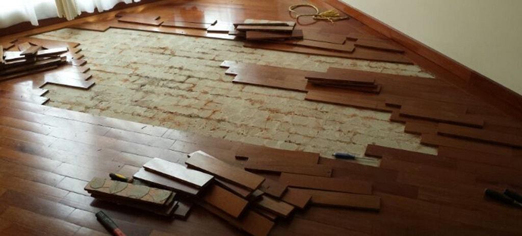 Qu debemos tomar en cuenta al instalar pisos de madera parte 2 deckora m xico - Piso que se pega ...