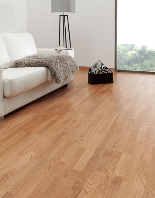 Duela de madera de roble natural deckora m xico for Pisos para interiores tipo madera